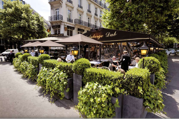 Auberge dab une superbe brasserie cossue porte maillot - Auberge dab porte maillot restaurant ...